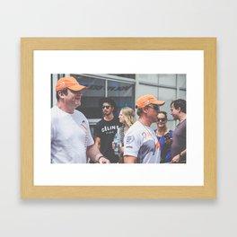 Volvo Ocean Race Framed Art Print