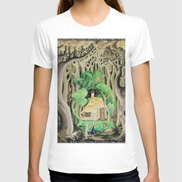 1925 Classical Masterpiece 'Hansel and Gretel by Brothers Grimm' by Kay Nielsen T-shirt