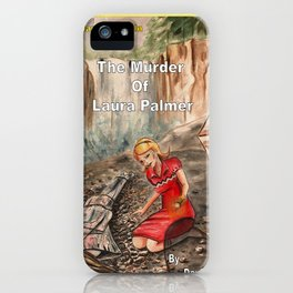 Twin Peaks Nancy Drew mash up.  iPhone Case