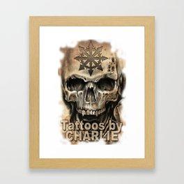 Tattoos by Charlie Framed Art Print