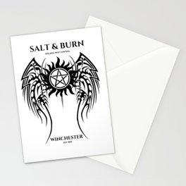 Salt & Burn Stationery Cards