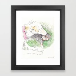 Auntie Flame Framed Art Print