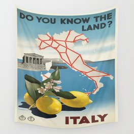 Vintage poster - Italy Wall Tapestry