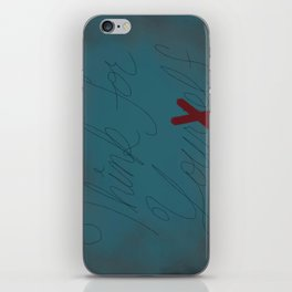 Think For Your Elf iPhone Skin