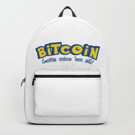 Bitcoin: Gotta mine 'em all! Backpack