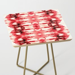 Tie-Dye Chili Side Table