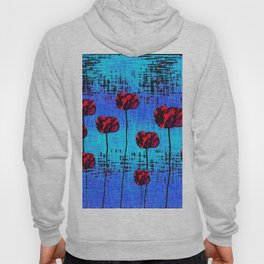 Street Art Pop Poppies Hoody