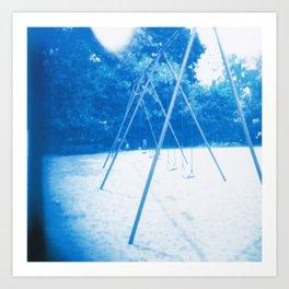 Toronto - Swings Art Print