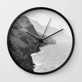 SUMMER COAST / Kauai, Hawaii Wall Clock