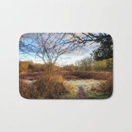 Out of the Woods and Back to the Frosty Path Bath Mat