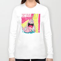 unicorn Long Sleeve T-shirts featuring UNICORN! by Chris Piascik