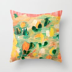Abstract 90 Throw Pillow