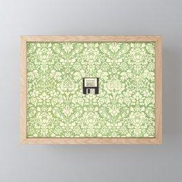 3 1/2 Inch Floppy Disk Framed Mini Art Print