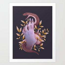 Serpent Art Print