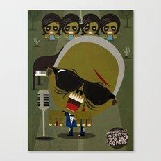 Ray Charles Zombie Canvas Print