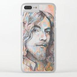 Robert Plant - I Pray That Love Won't Die Clear iPhone Case