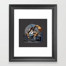 The Offender Framed Art Print
