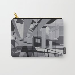 Cyan Twins Carry-All Pouch