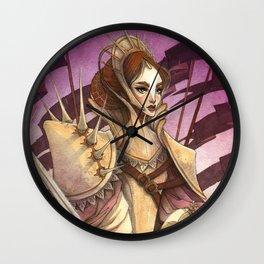 Wrath and Thunder Wall Clock