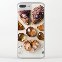 Crystal Sunshine Clear iPhone Case