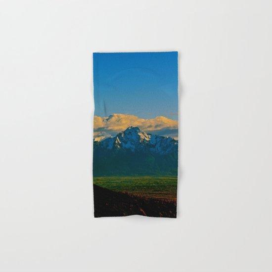 Pioneer Peak - Mat-Su Valley Hand & Bath Towel