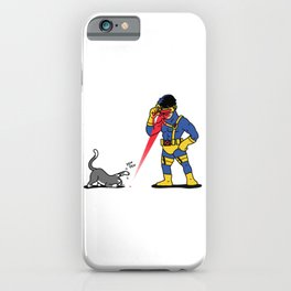 Cats & Lasers iPhone Case