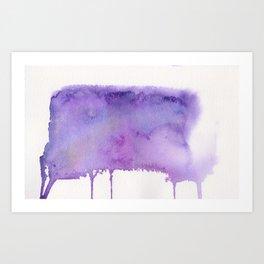 Liquid galaxy Art Print