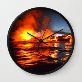 Kilauea - Hawaii Wall Clock
