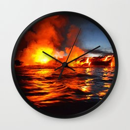 Kilauea - Hawaii Wall Clock