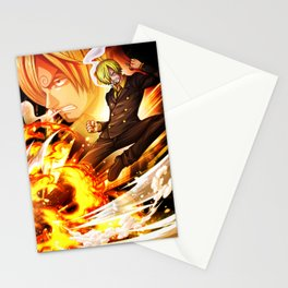 Sanji - One piece Stationery Cards