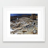 bread Framed Art Prints featuring Bread by Syria