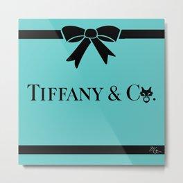 TIFFANY & CO Metal Print