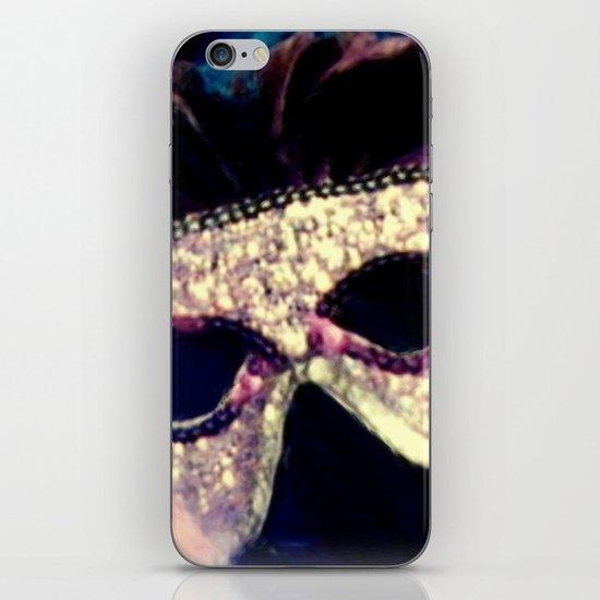 Mardi Gras Mask iPhone & iPod Skin