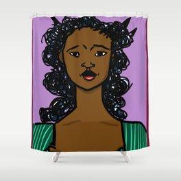 Darlyne by Naddya Shower Curtain
