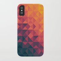 infinity iPhone & iPod Cases featuring Infinity Twilight by Picomodi