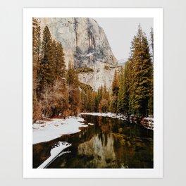 El Capitan, Yosemite National Park Art Print