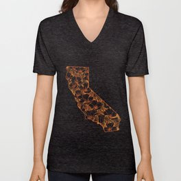 home is where the poppies are Unisex V-Neck
