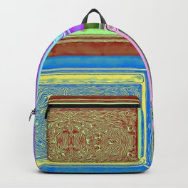 No' 24 Retro Patterns Backpack