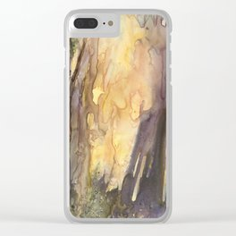 Forest FIRE! Clear iPhone Case