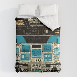 To Outer Space! Duvet Cover