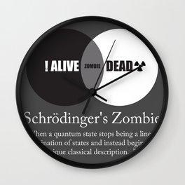 Schrödinger's Zombie Wall Clock