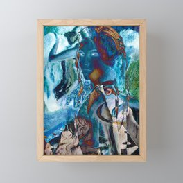 Torn Framed Mini Art Print