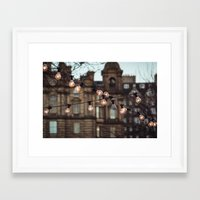 the lights Framed Art Prints featuring Lights by Errne
