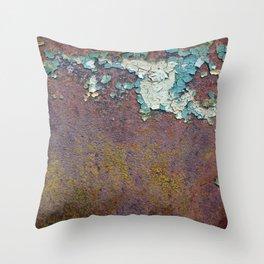 Paint mosaic Throw Pillow
