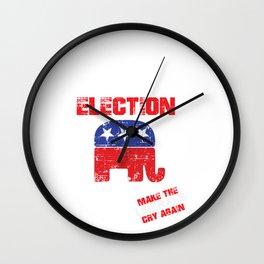 2020 ELECTION US Wall Clock