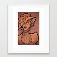 victorian Framed Art Prints featuring Victorian by 1 of Many Laurens