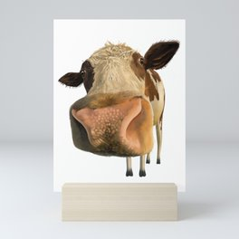 Cute Cow Mini Art Print