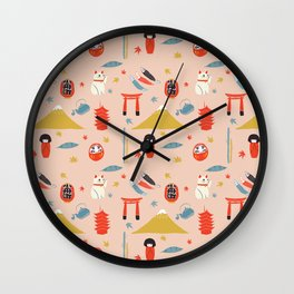 Akimatsuri Wall Clock