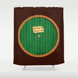 Out for an adventure Shower Curtain