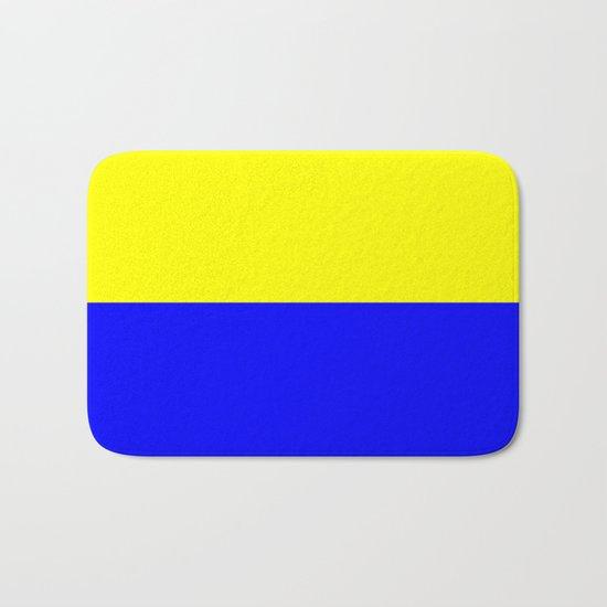 Flag of Zandvoort Bath Mat